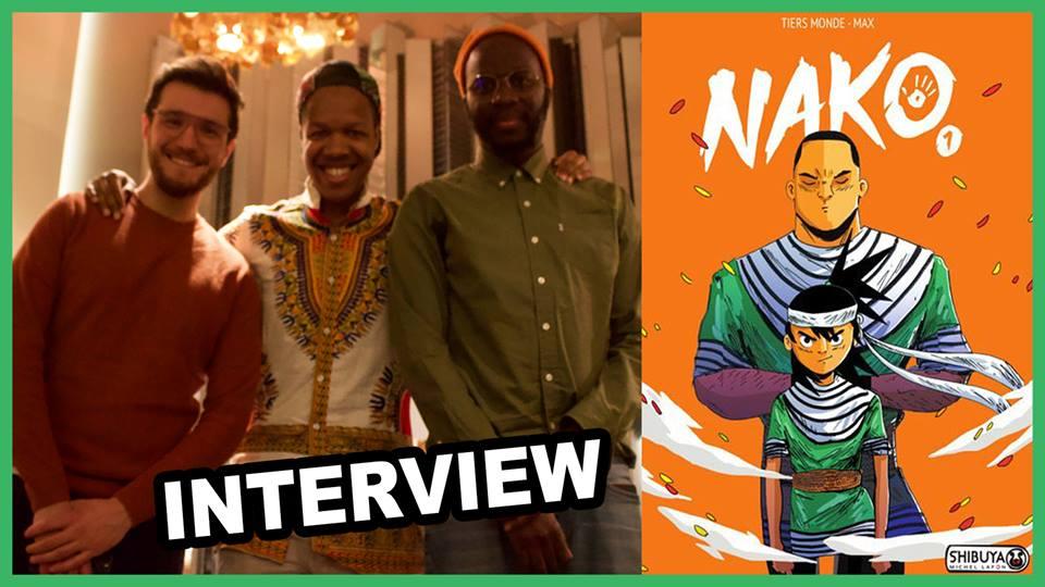Max & Tiers-Monde, les auteurs de Nako
