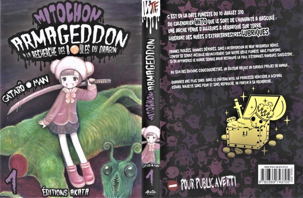 Jaquette de Mitochon Armageddon