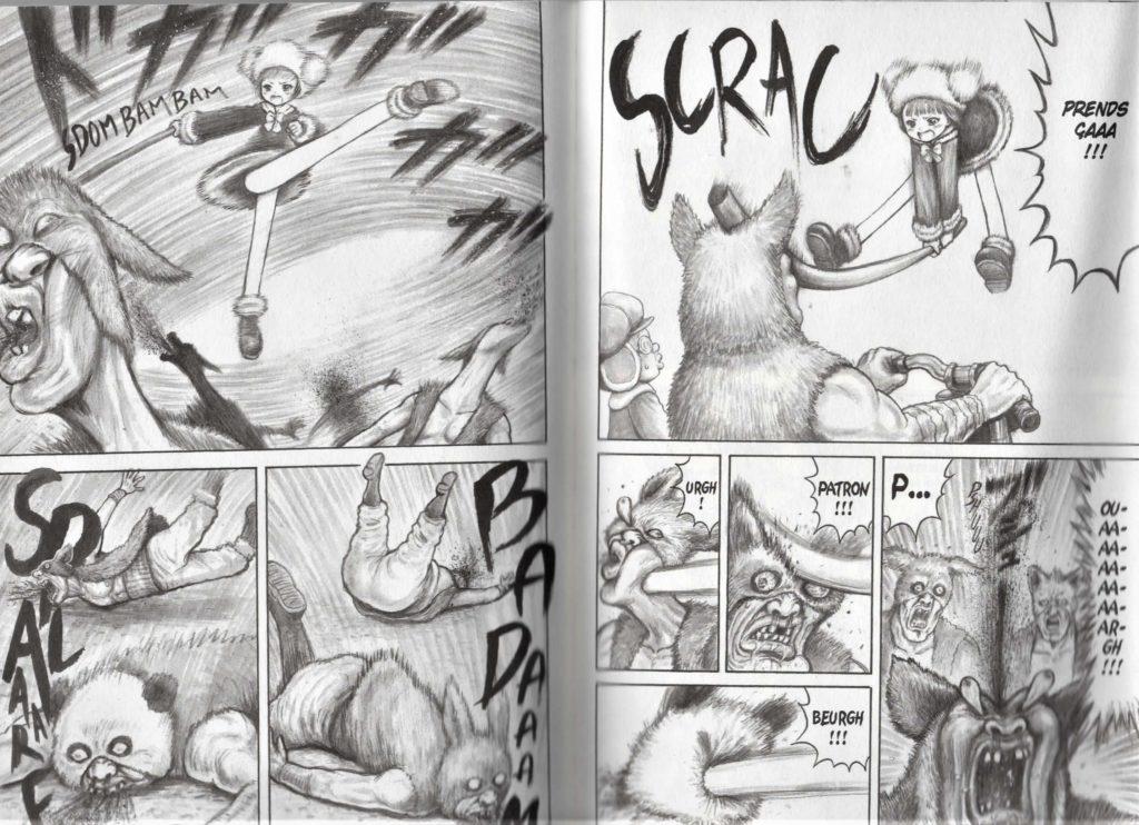 Extrait de Mitochon Armageddon, édition Akata