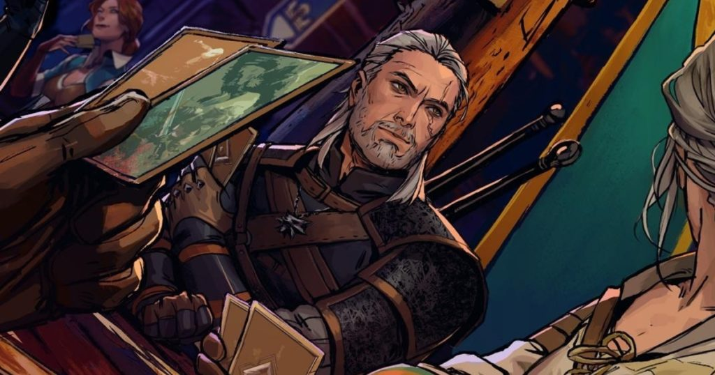 The Witcher, image provenant du jeu Thronebreaker.