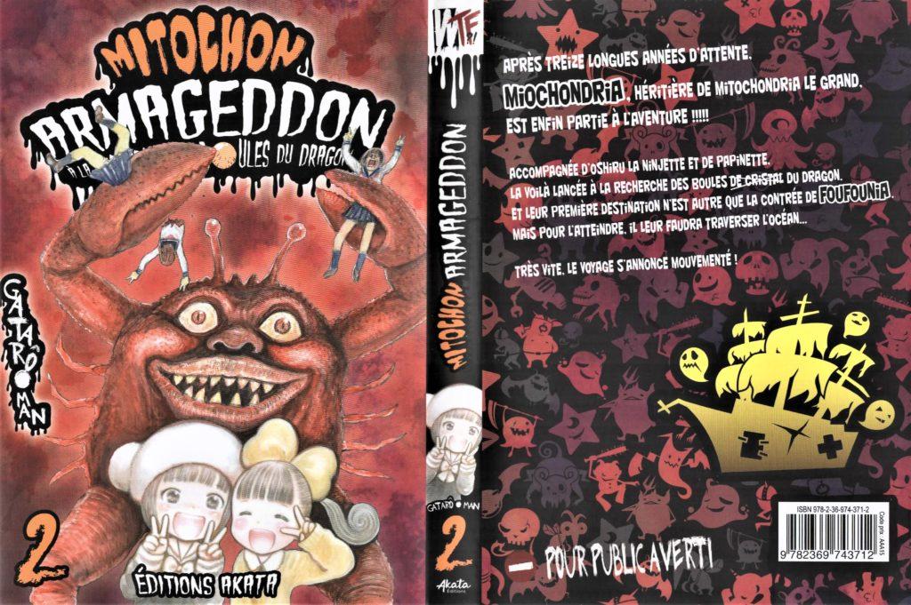 Couverture Mitochon Armageddon Tome 2