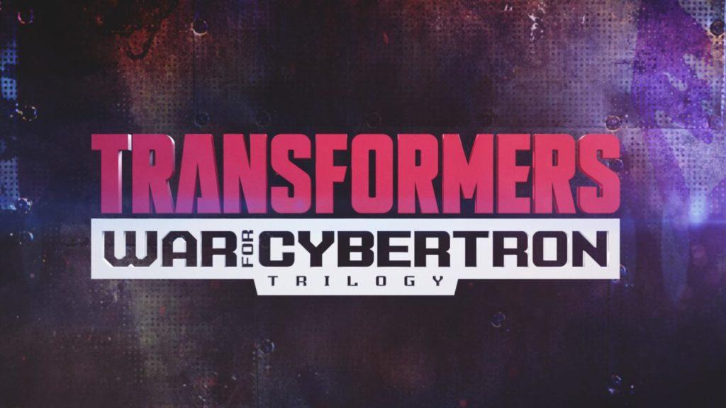 Logo pour la série Transformers War of Cybertron Trilogy.