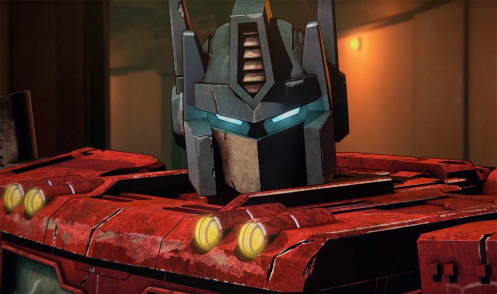 Visuel issu du trailer de Transformers War of Cybertron Trilogy.