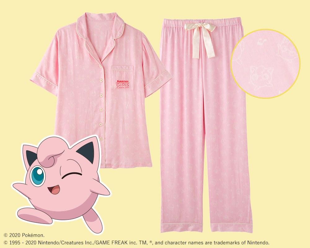 Pyjama Rondoudou Pokémon Peach John