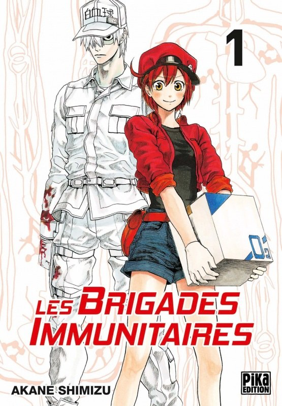 Cells at Work tome 1 Pika