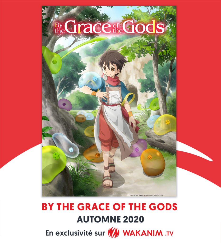 Affiche By The Grace of The Gods sur Wakanim