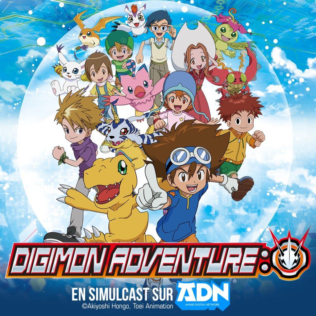 Digimon Aventure Psi 2020 en simulcast sur Crunchyroll et Wakanim