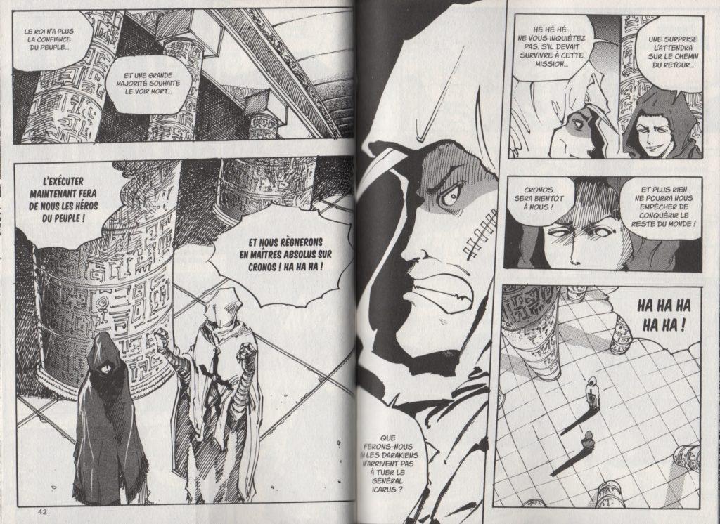 Extrait Arès le soldat errant tome 7 Arc 3 Black CygnuS