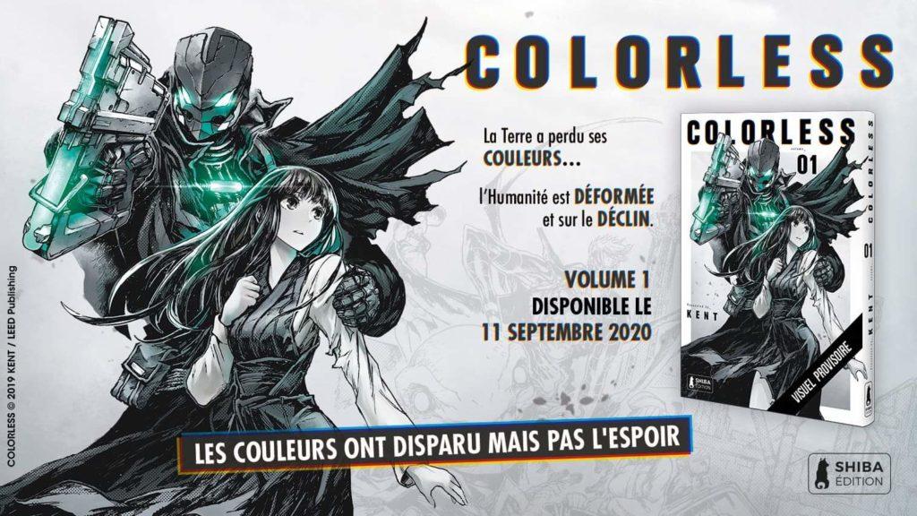 Colorless Shiba Edition Kent nouvelle série