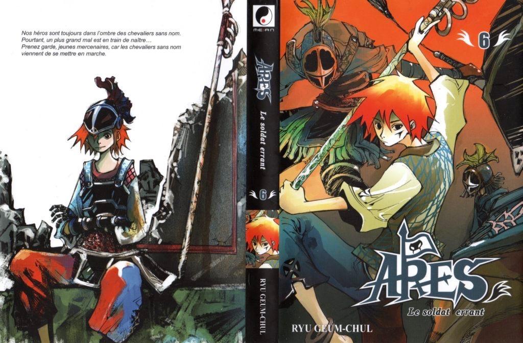 Jaquette du tome 6 d'Arès chez Meian Editions Arc 3 Black Cygnus