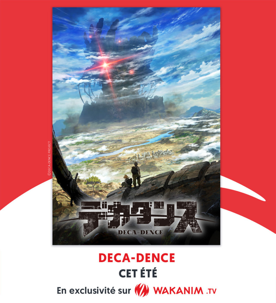 Wakanim diffusera Deca-dence cet été!