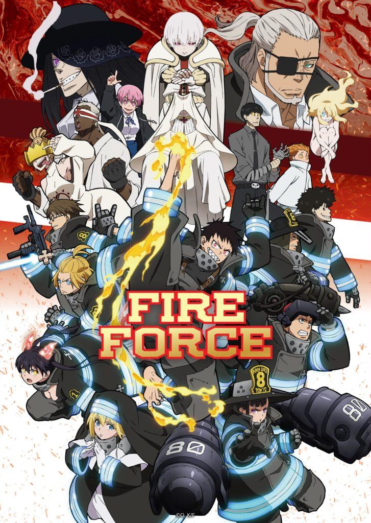 Fire Force S2 saison 2 affiche trailer
