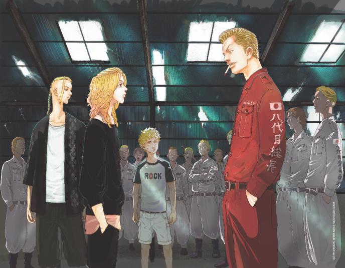 Illustration de Tokyo Revengers Ken Wakui anime