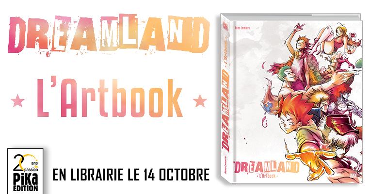 Artbook Dreamland le 14 octobre 2020