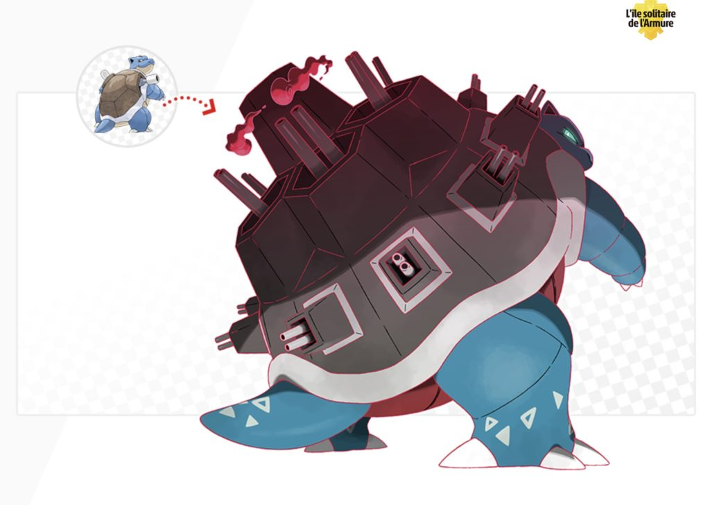 Tortank Gigamax Cannonade G-Max