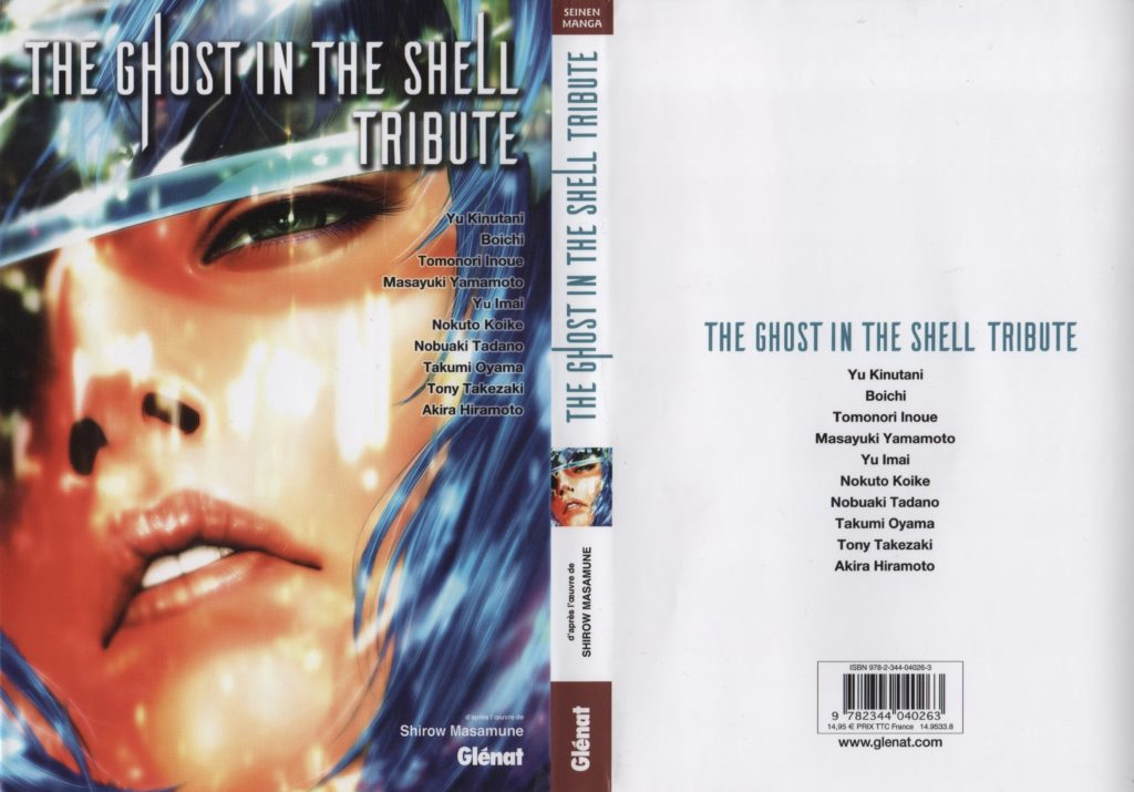 The Ghost in The Shell Tribute Glénat Jaquette
