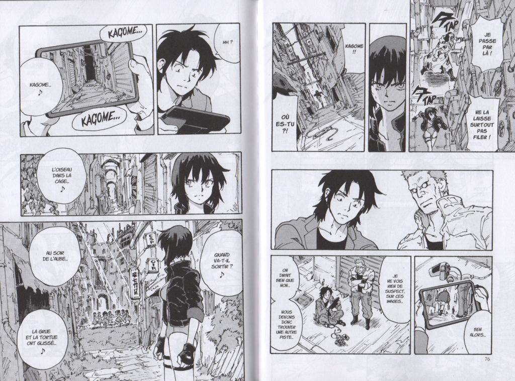 The Ghost in The Shell Tribute Glénat Tomonori Inoue