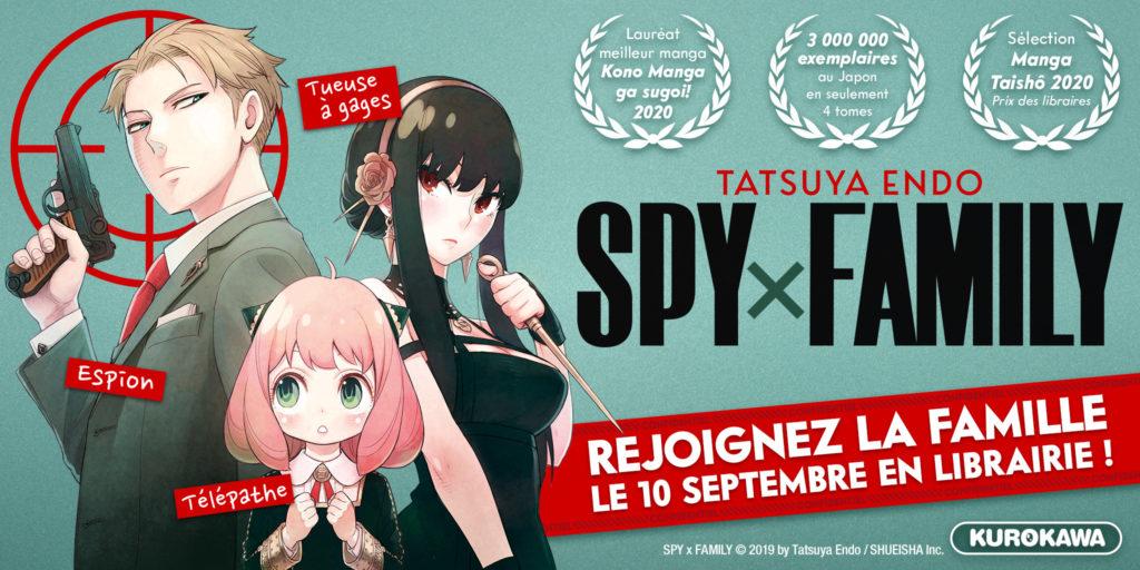 SpyXFamily Kurokawa Tatsuya Endo