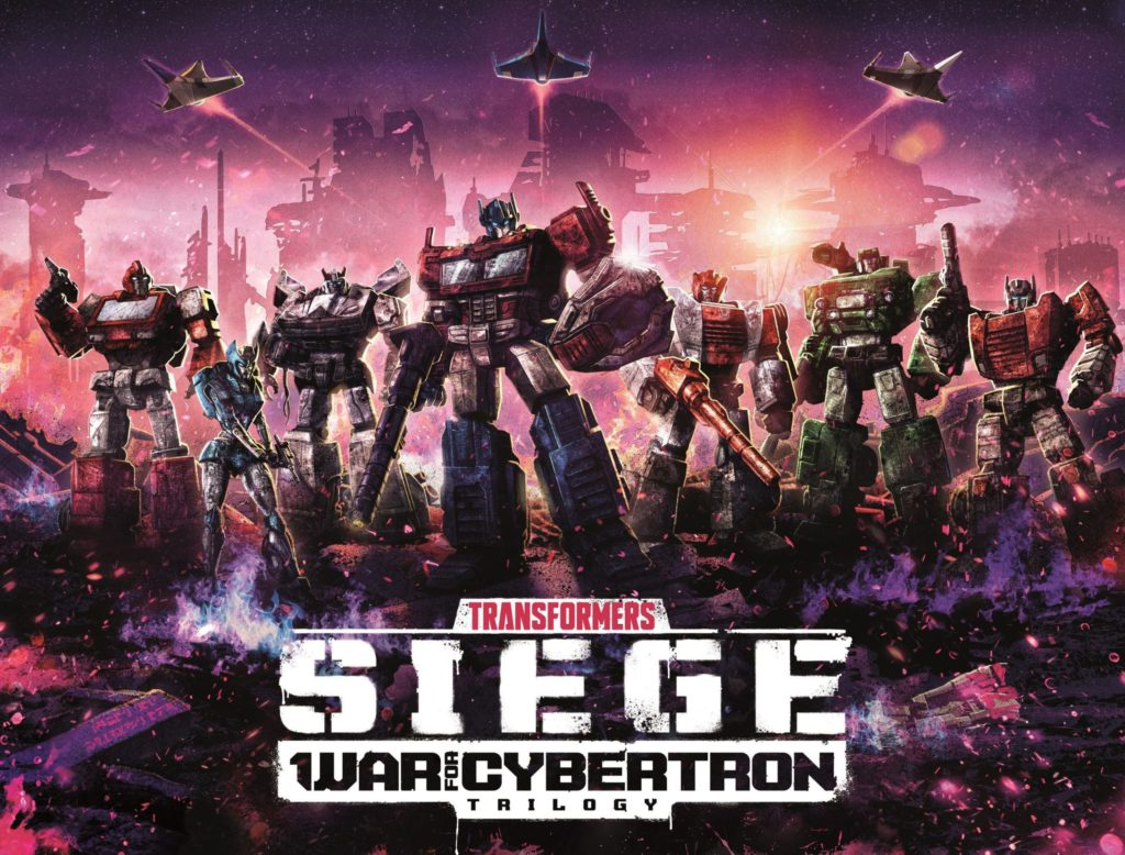 Transformers War of Cybertron Trilogy siège 2020 Netflix date