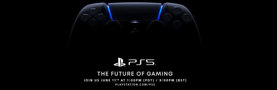 Live Sony PS5 annonce jeux