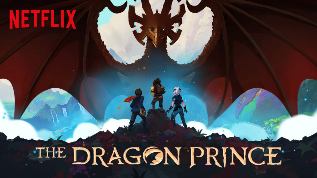 Le prince des Dragons The Dragon Prince saison 4 et saga