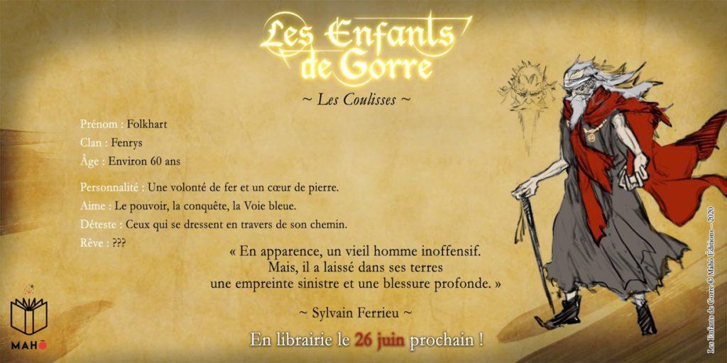 Folkhart Fenrys Les Enfants de Gorre Mahô Edition Les Trésors du Nain