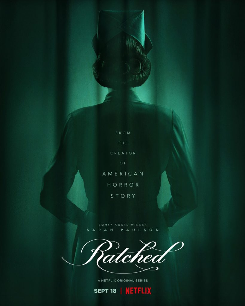 Affiche Mildred Ratched Sarah Paulson Ryan Murphy Netflix