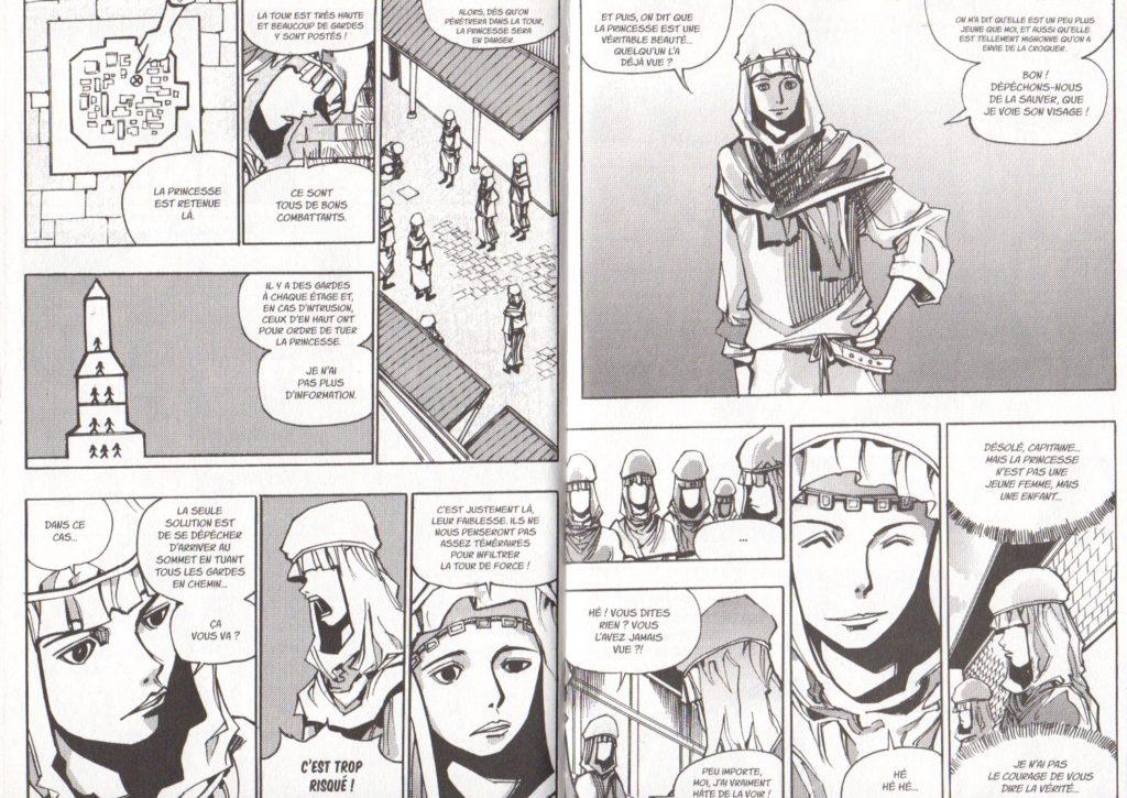 Extrait tome 20 Les Trésors du Nain: Arès Arc 12 Le sauvetage des otages Meian Edition Ryu Geum Chul