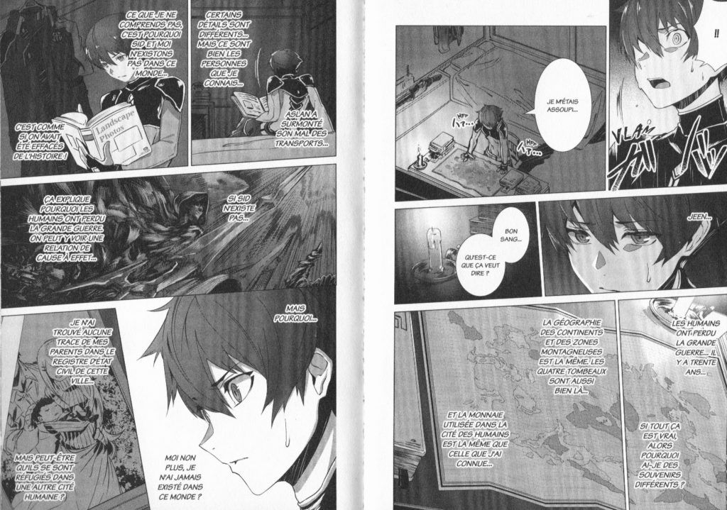 Extrait Why Nobody Remembers my World tome 1 Les Trésors du Nain