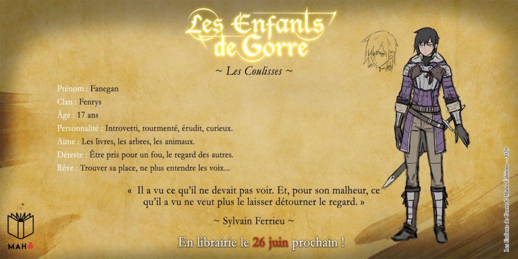 Fanegan Fenrys Les Enfants de Gorre Mahô Edition Les Trésors du Nain