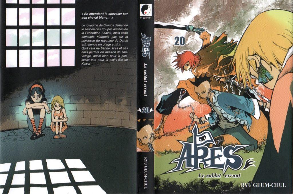 Jaquette tome 20 Les Trésors du Nain: Arès Arc 12 Le sauvetage des otages Meian Edition Ryu Geum Chul