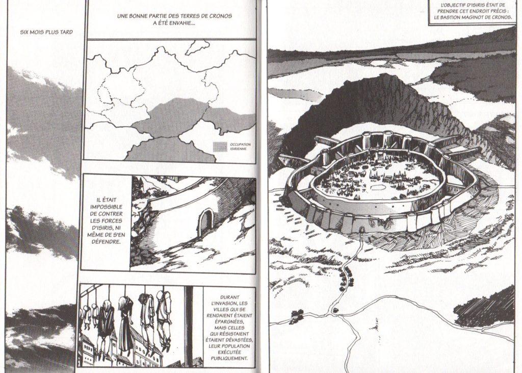 Extrait tome 18 Arès Arc 11 Les Trésors du Nain Meian Edition Ryu Geum Chul