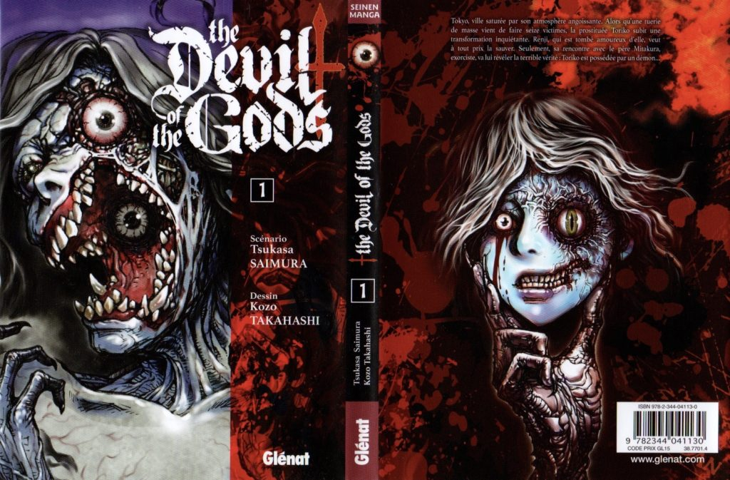 Jaquette The Devil of The Gods Tome 1 Glénat Les Trésors du Nain