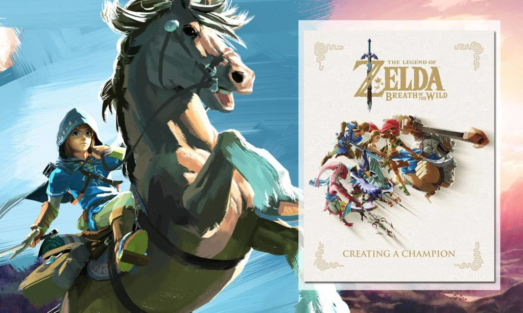 The Legend of Zelda Breath of The Wild Creating a Champion édition américaine