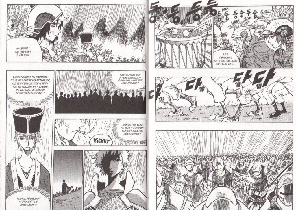 Extrait tome 17 Arès Arc 11 Les Trésors du Nain Meian Edition Ryu Geum Chul