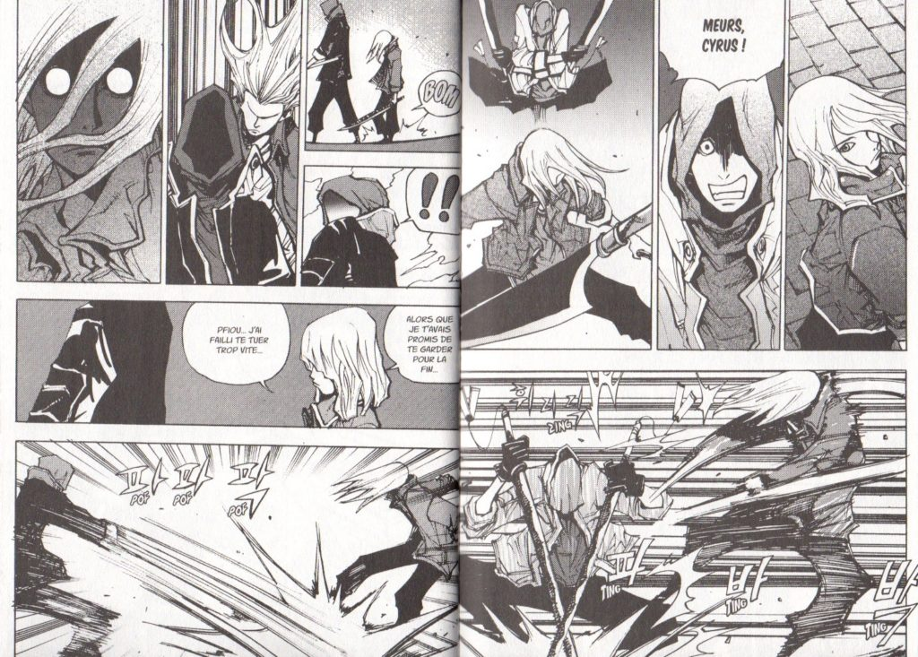 Extrait Tome 26 Arès Arc final Meian Editions Ryu Geum Chul Les Trésors du Nain
