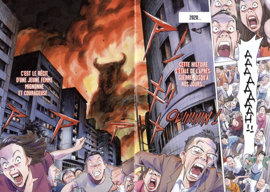 Page couleur Asadora tome 1 Kana Big Kana Naoki Urasawa Les Trésors du Nain