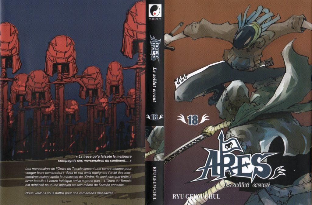 Jaquette tome 18 Arès Arc 11 L'invasion de Cronos