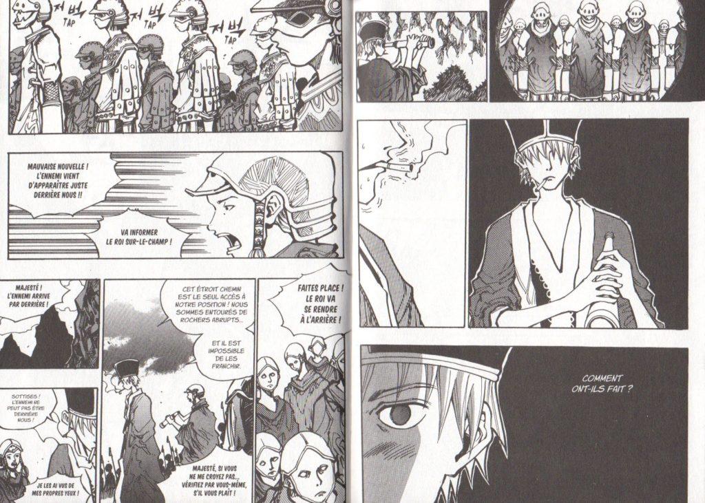Extrait tome 17 Arès Arc 11 L'invasion de Cronos Les Trésors du Nain Meian Edition Ryu Geum Chul