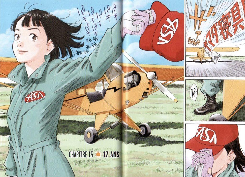 Page couleur Asadora tome 2 Kana Big Kana Naoki Urasawa Les Trésors du Nain