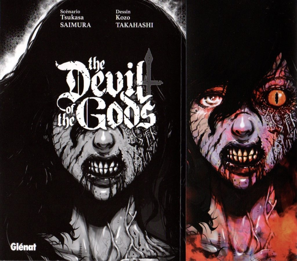 Couverture The Devil of The Gods Glénat Tome 1