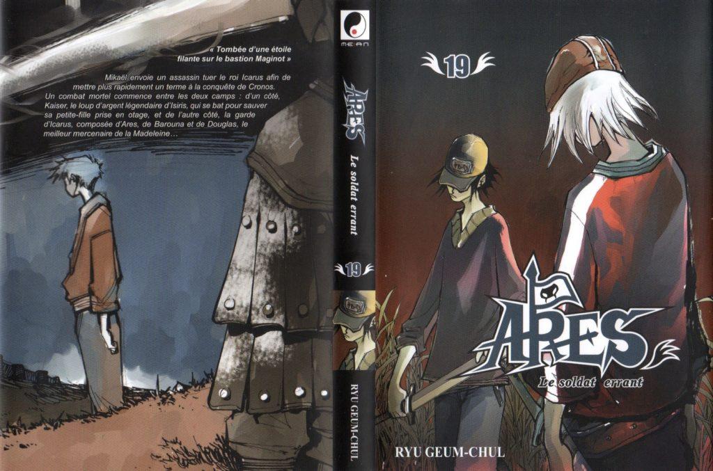Jaquette tome 19 Arès Arc 11 L'invasion de Cronos