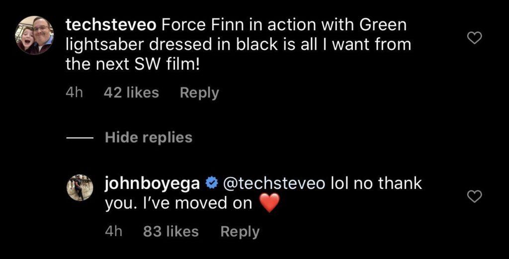 John Boyega quitte Star Wars