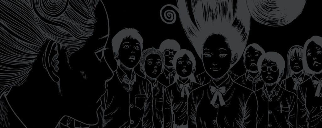Junji Ito Spirale Uzumaki manga animé reporté