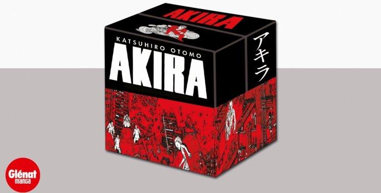 Coffret collector Akira Katsuhiro Otomo