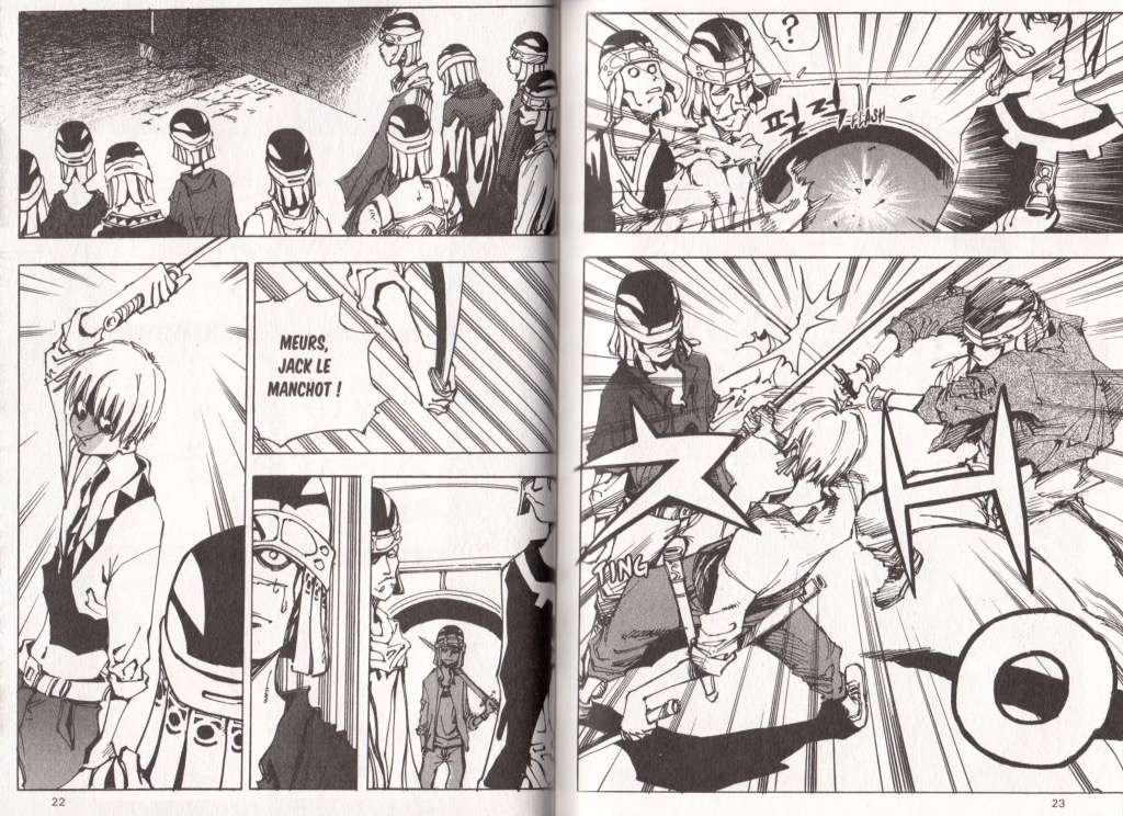 Extrait tome 2 Arès le soldat errant Ryu Geum Chul Meian Edition