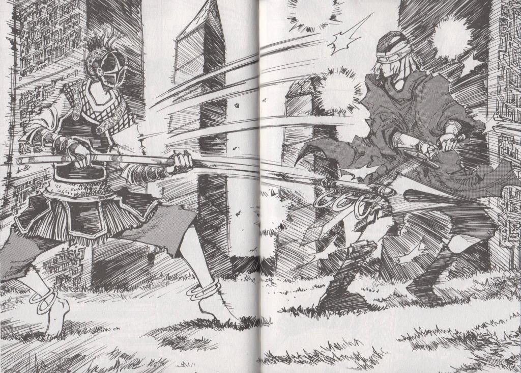 Extrait tome 12 Arès le soldat errant Ryu Geum Chul Meian Edition