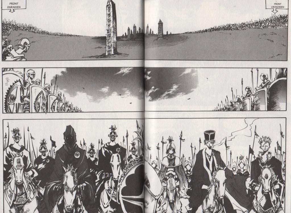 Extrait tome 8 Arès le soldat errant Ryu Geum Chul Meian Edition