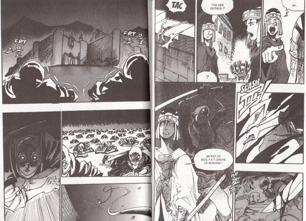 Extrait tome 13 Arès le soldat errant Ryu Geum Chul Meian Edition