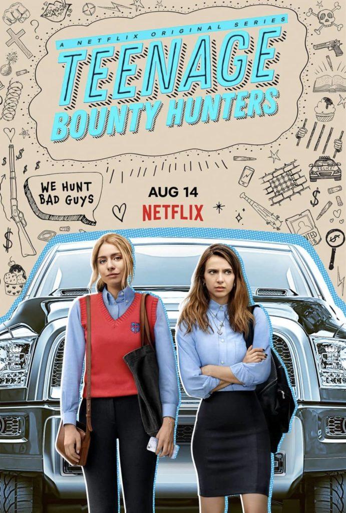 Teenage Bounty Hunters Netflix Affiche Promotionnelle Création Originale